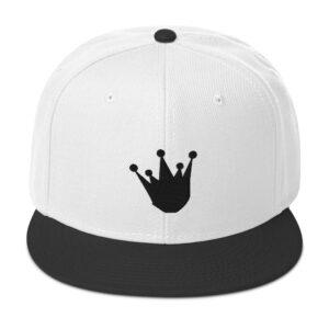 King Crown Snapback Hat