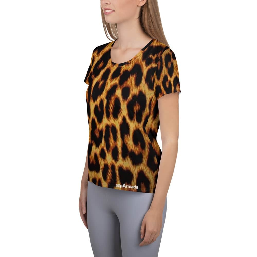 Leopard Tshirt for ladies